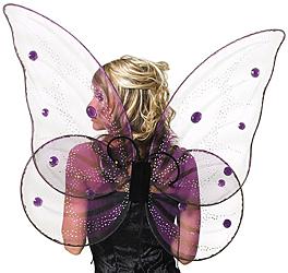 Halloween Kostüm - große Feenflügel