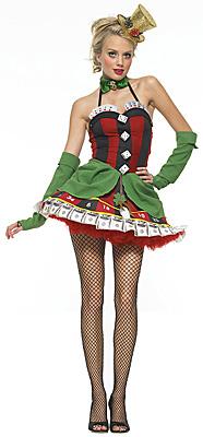 Sexy Casino Girl Kostüm