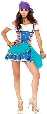Sexy Zigeunerin Kostüm
